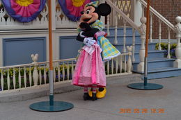 My daughter very excited to meet Minnie Mouse. , Osvaldo E F C - April 2015