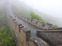 The misty morning added to the overall experience of the Great Wall! , nicole_barnard - October 2014