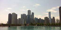 View from Lake Michigan. SeaDawg boat tour is fantastic! , Kim C - July 2011
