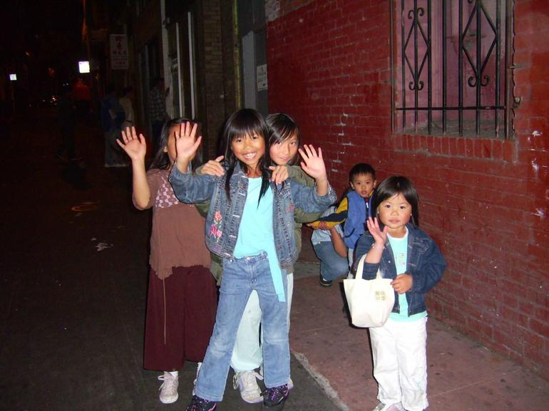 Children in Chinatown - San Francisco