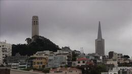 The San Francisco Waterfront Segway Tour shows you great views of Coit Tower! - July 2011