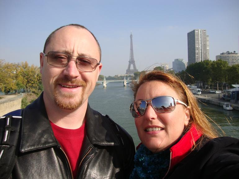 Eiffel Tower In The Background - Paris