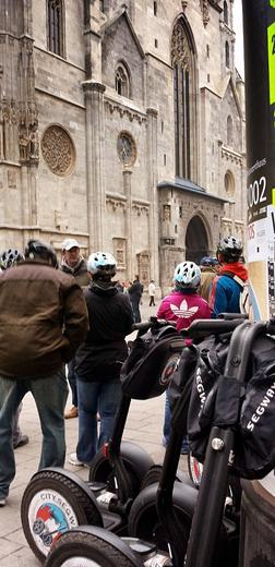 Photo of Vienna Vienna City Segway Day Tour In front od the Cathedral