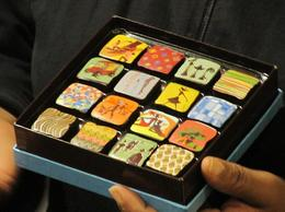 Photo of Boston Boston Chocolate Walking Tour Individually painted chocolates at Twig