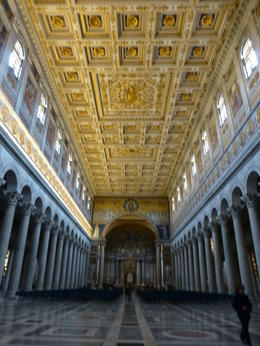 Look left, look right, look down, look up when in the Vatican Museum. There' so much to be seen! , Miss Mac - May 2013