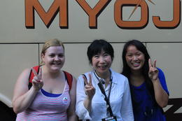 Photo of Osaka Kyoto and Nara Day Tour Including Golden Pavilion and Todai-ji Temple from Osaka Our tour guide!