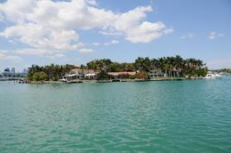 East end of Palm Island, taken from Biscayne Bay facing west, Jeffrey S - March 2010