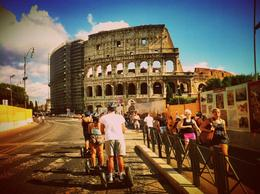 On the way to the Colosseum. , Lee - September 2014