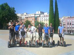Striking a pose, Segway style., Andrew D - July 2010