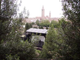 Photo of   The central stage with view over Verona.
