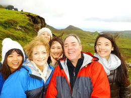 A selfie with our new friends we met on the trip. , Thomas B - September 2014