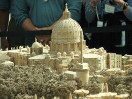 Replica miniature of the Vatican, It is so much larger than you would think, Rita S - October 2012
