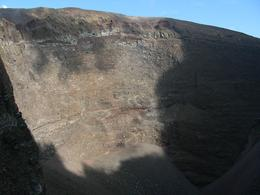 The crater of Vesuvius (end of tourist's path)., GLEB B - September 2010