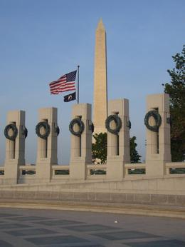 Photo of Washington DC Washington DC Sites at Night Bike Tour WWII Memorial