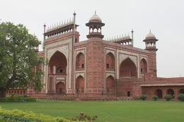 The Great Gate (Darwaza-i-rauza) - gateway to the Taj Mahal - September 2012
