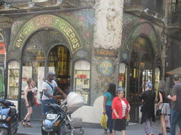 VERY OLD CAFE ON LA RAMBLAS , Tony V - September 2012
