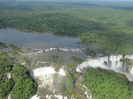 Photo of Foz do Iguacu Iguassu Falls Panoramic Helicopter Flight Iguassu Falls from Helicopter