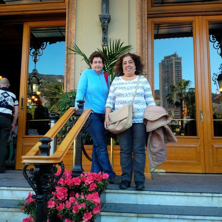 In front of Casino Monte Carlo