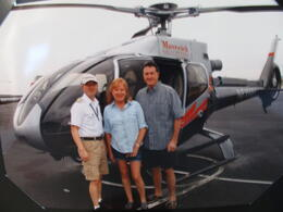 Photo of Las Vegas Grand Canyon Helicopter Tour from Las Vegas Just before take-off!
