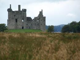 Kilchurna Castle has much better views from up close, with the Loch and the islands visible., Patricia Y - August 2009