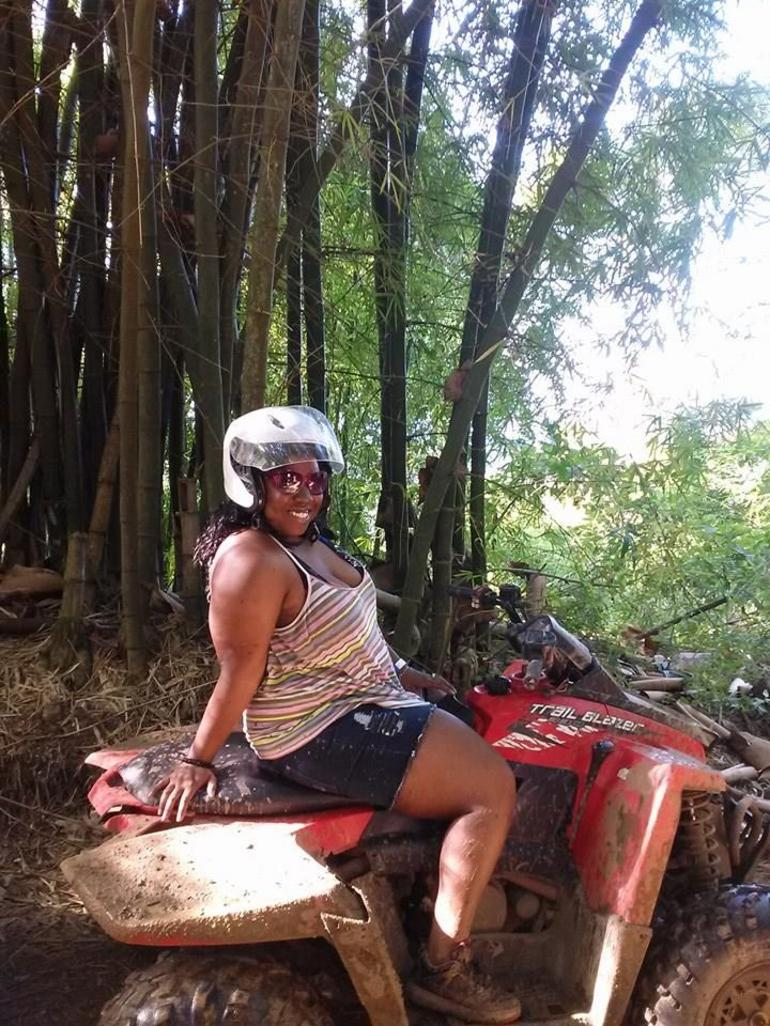 On my ATV - Montego Bay