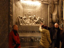 The Last Supper carved in Salt , Cecil C - March 2011