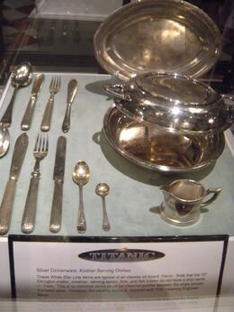 Photo of Orlando Titanic The Experience Silverware