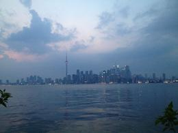 Photo of   Sunset View of Toronto Skyline