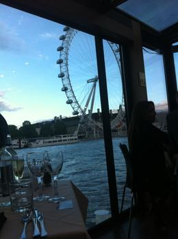 Photo of London London Thames River Dinner Cruise Symphony Premier Table View