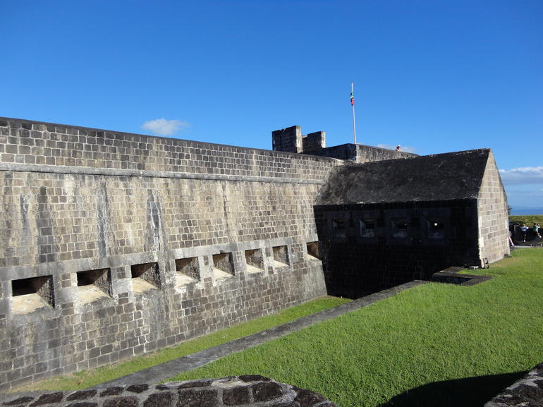 The fort - St Kitts