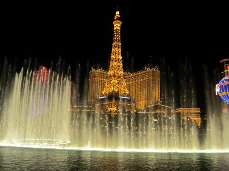 The Fountains of Bellagio - Las Vegas