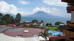 Photo of Guatemala City 5-Day Tour from Guatemala City: Antigua, Chichicastenango, Panajachel and Santiago Atitlán View from Porta Del Lago Hotel