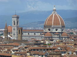 Photo of Florence Florence City Hop-on Hop-off Tour View of Il Duomo from Piazale Michelangelo