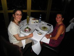 My friend and I had a great time - enjoying a wonderful meal and amazing views! - March 2010