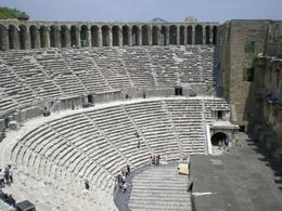Aspendos from above, Dan?el M - July 2009