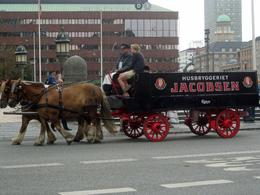 Photo of Copenhagen Copenhagen Panoramic City Tour with Tivoli Gardens Brewery Wagon