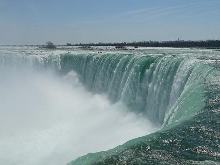 Canadian Side of Niagara Falls - New York City