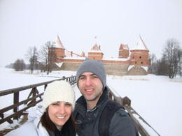 Matt and Deanna visit the Trakai Castle in Feb/2011 , mattyhouser - February 2011