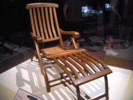 Photo of Orlando Titanic The Experience Chair