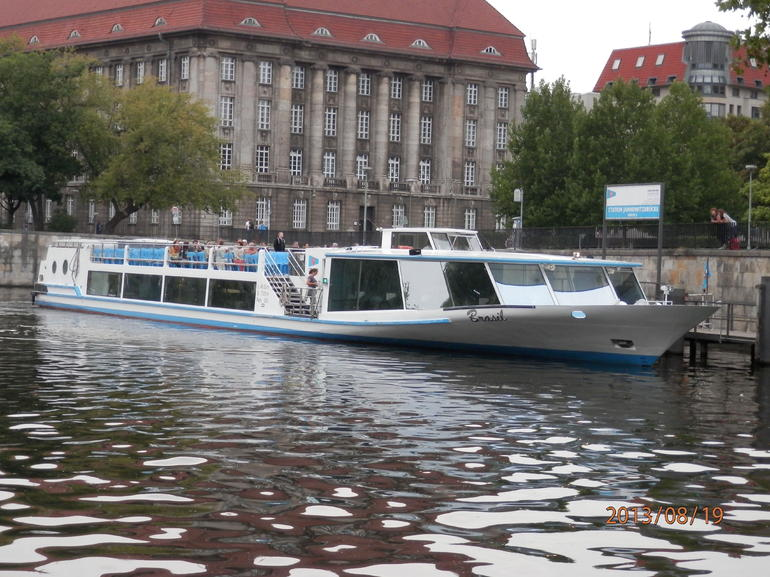 This is an example of a cruise boat.