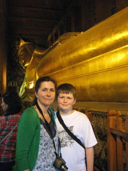 Photo of Bangkok Private Tour: Bangkok Temples including reclining Buddha at Wat Pho Dominic and Me at Reclining Buddha