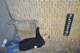 remember to look for Platform 9 3/4 at Kings Cross station. (Near the information desk in new part of station) , Hurtz74 - April 2012
