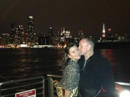 Photo of New York City Bateaux New York Dinner Cruise Freezing on Deck!