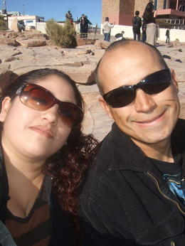 Me and my Hubby!, Michele Carbajal Curiel - January 2014