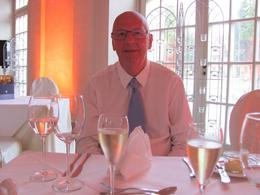 Charlottenburg Schloss - Orangerie - My husband David - just befor dinner was served. , D M - September 2012