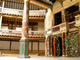 Photo of   Inside Shakespeare's Globe Theatre