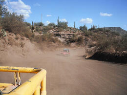 Photo of Phoenix Phoenix Shooting Range: Firearms Course & Firing Line Shooting Kicking up the dust!