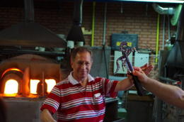 Murano Glass Blower - March 2012