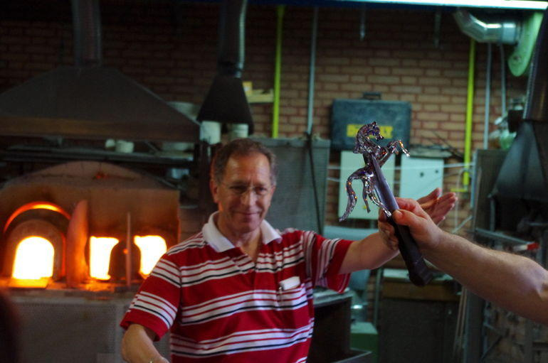 Murano Glass Blower - Venice