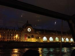 Photo of Paris Seine River Cruise: Bateaux Parisiens Sightseeing Cruise Musee d'Orsay at Night